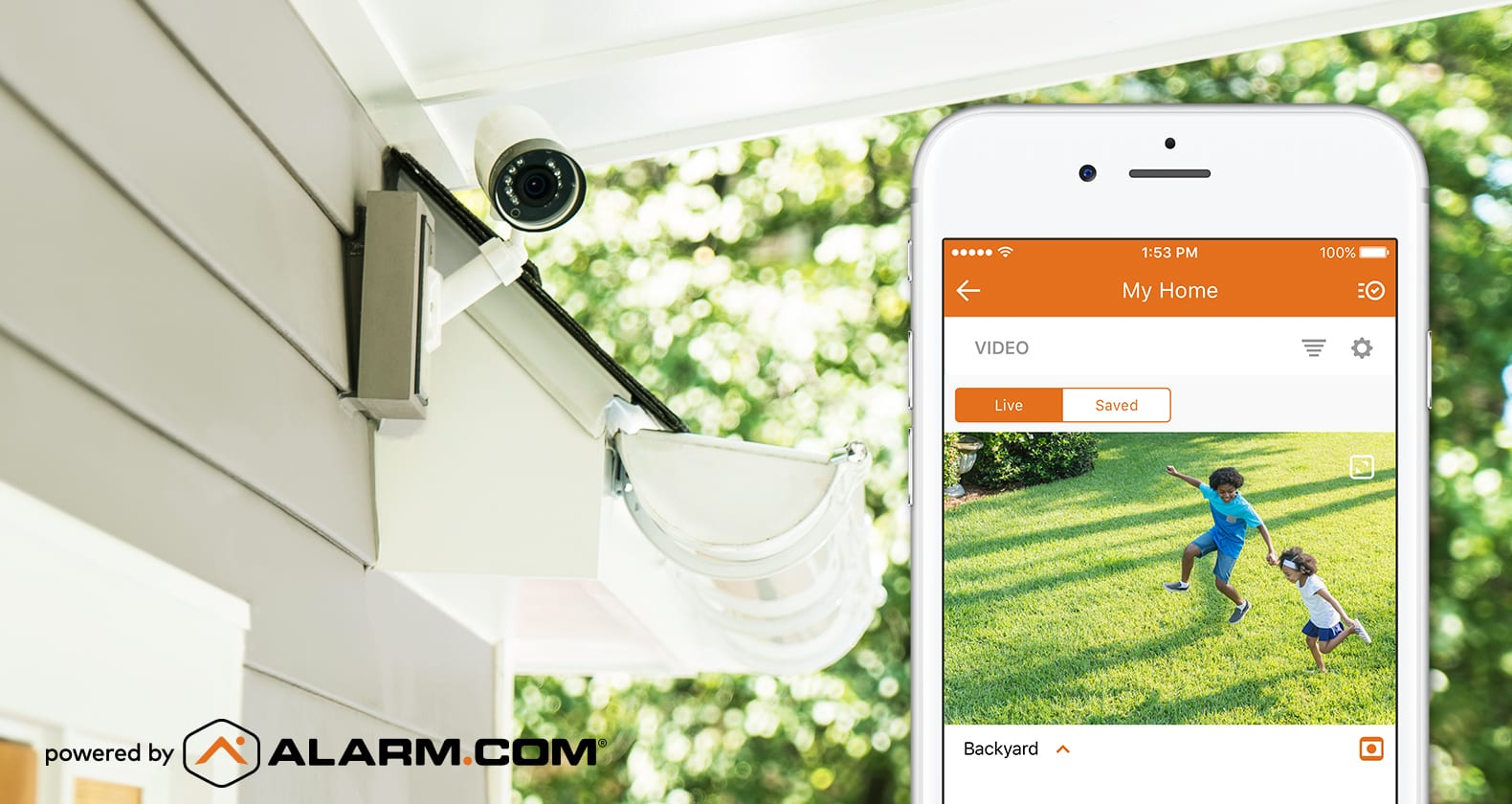 Residential security cameras placement