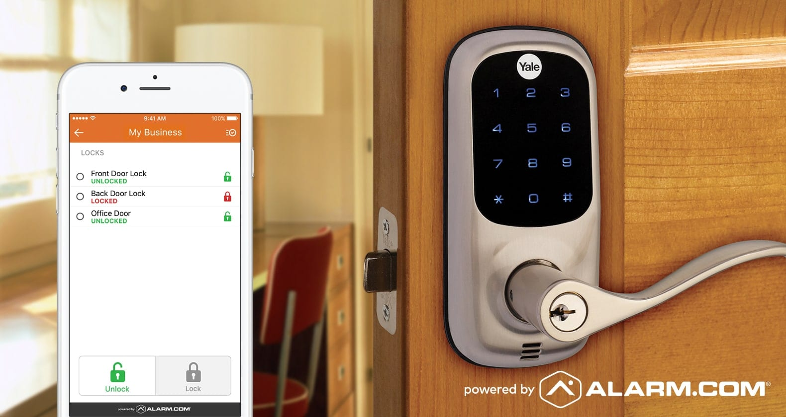 Access control for business insights