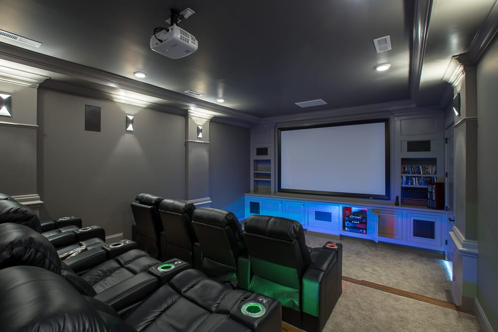 Home entertainment solutions home theaters
