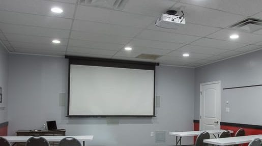 His Security & Technology conference room security solutions