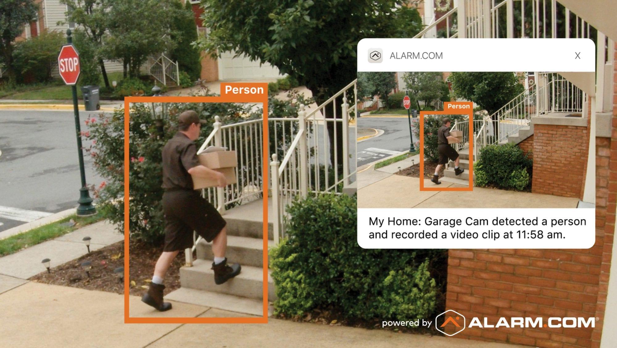 Residential security doorbell cameras